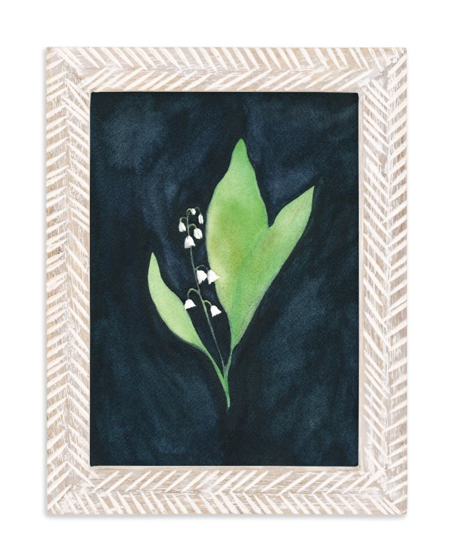 """""""COURAGE TO REMEMBER   lily of the valley 1"""" - Limited Edition Art Print by Renee Anne in beautiful frame options and a variety of sizes."""