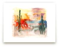 Desert Abstract by Sara Berrenson