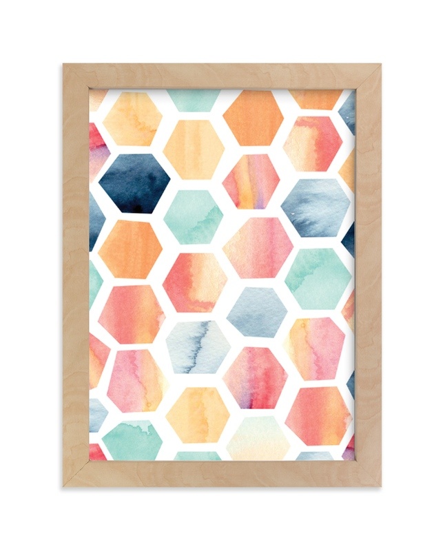 """""""Desert Prism"""" - Limited Edition Art Print by SylvieCeres Designs in beautiful frame options and a variety of sizes."""