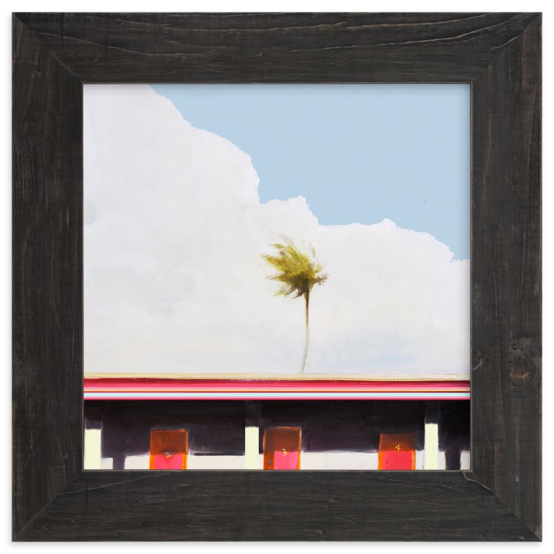"""""""MOTEL CALIFORNIA"""" - Limited Edition Art Print by SETH SMITH in beautiful frame options and a variety of sizes."""