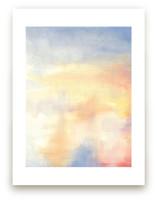 Red Rising Sun 1 by Susanne Kasielke