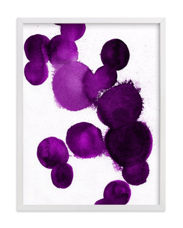This is a purple art by Parima Studio called Lula with standard.