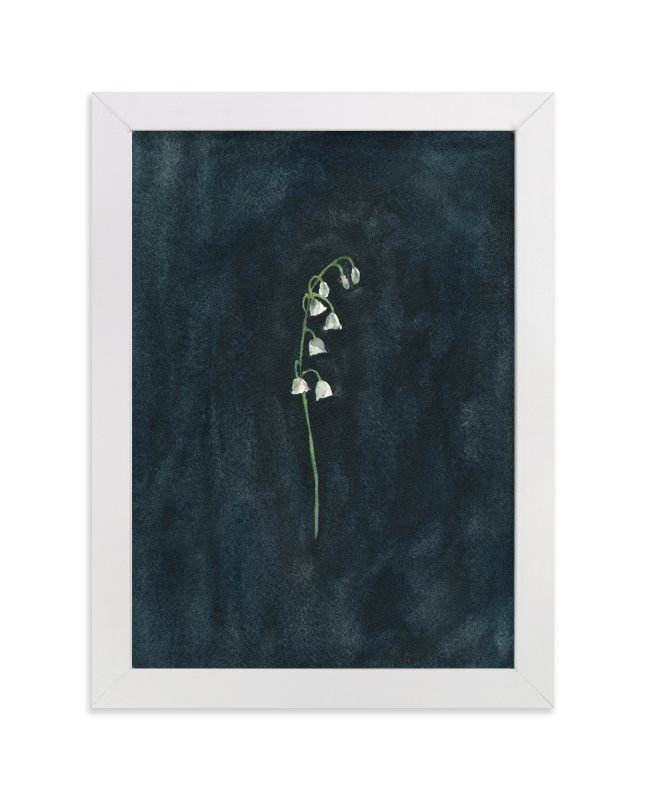 """""""Remember: Lily of the Valley"""" - Limited Edition Art Print by Renee Anne in beautiful frame options and a variety of sizes."""