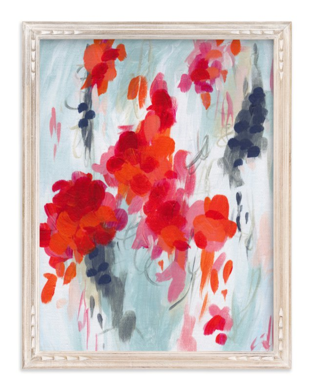 """""""Poppies I"""" - Limited Edition Art Print by Holly Whitcomb in beautiful frame options and a variety of sizes."""