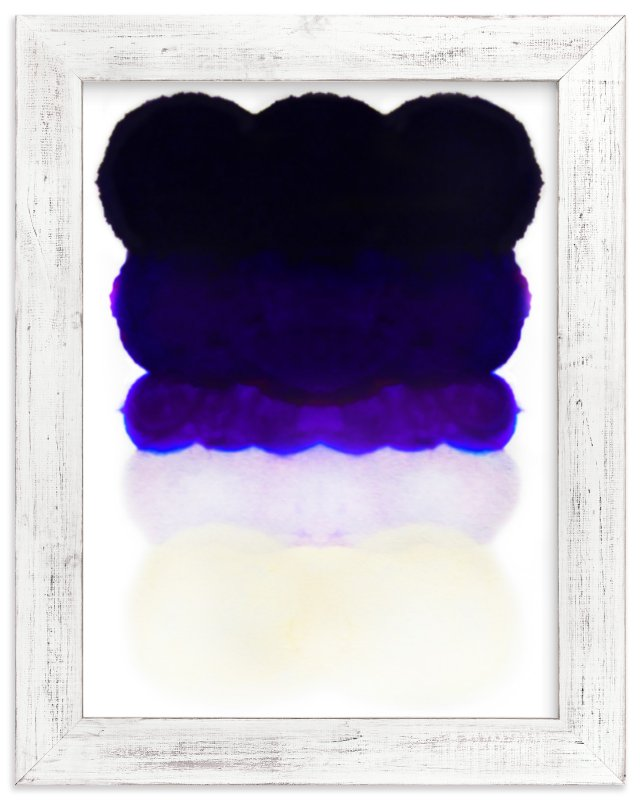 """""""Night Cap"""" - Limited Edition Art Print by Kristi Kohut - HAPI ART AND PATTERN in beautiful frame options and a variety of sizes."""