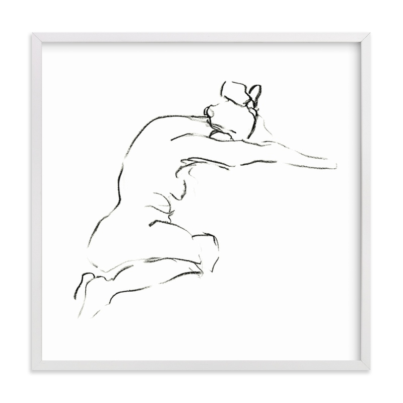 """""""Model9"""" - Limited Edition Art Print by Miranda Mol in beautiful frame options and a variety of sizes."""