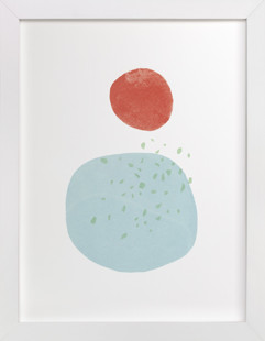 Moonlight Rain Art Print