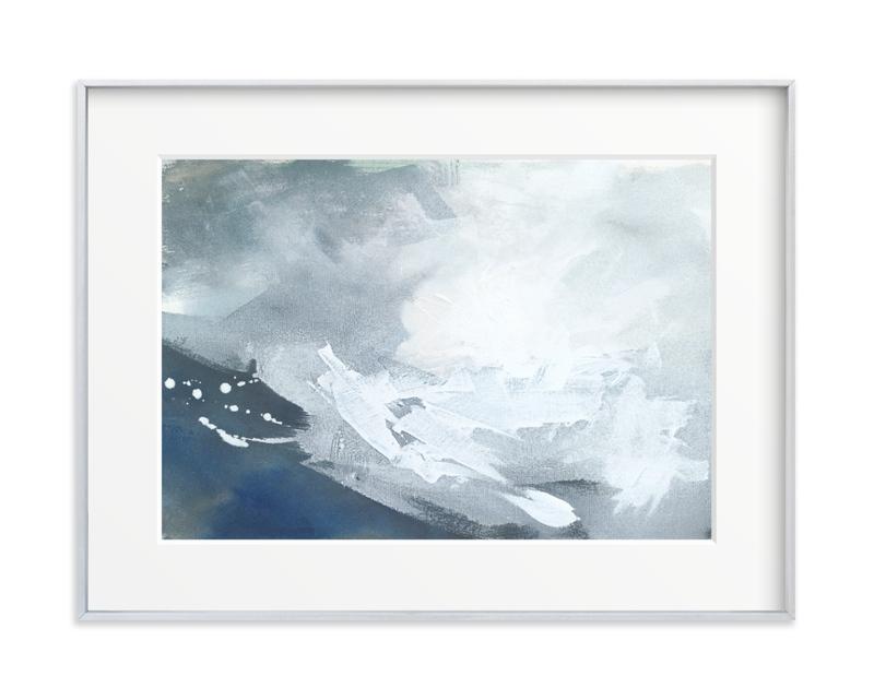 Iron Sky Art Print