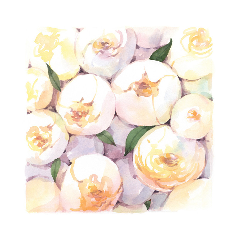 Cluster of Peonies Wall Art Prints by Four Wet Feet Studio ...