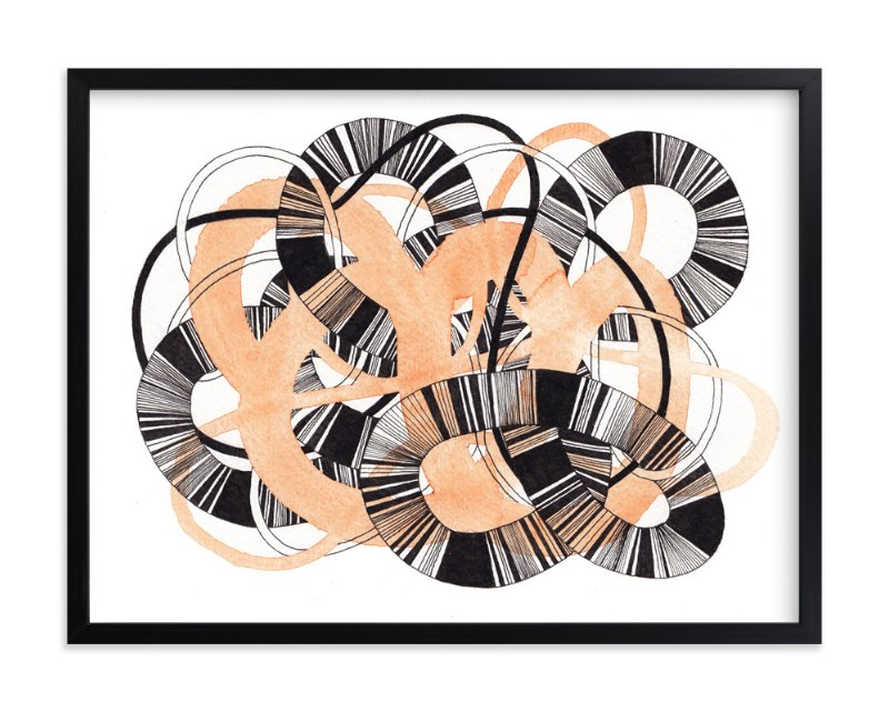 """""""Sandworm 3"""" - Limited Edition Art Print by Jaime Derringer in beautiful frame options and a variety of sizes."""