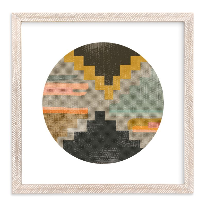 """""""Woven Pieces 2"""" - Limited Edition Art Print by Kate Capone in beautiful frame options and a variety of sizes."""