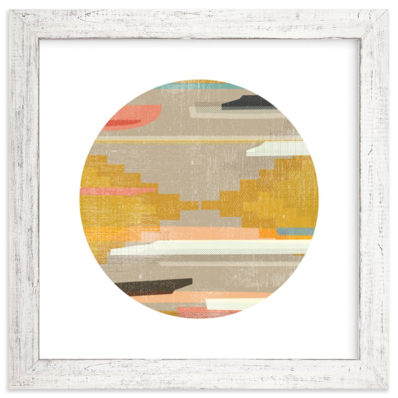 """Woven Pieces 1"" - Limited Edition Art Print by Kate Capone in beautiful frame options and a variety of sizes."