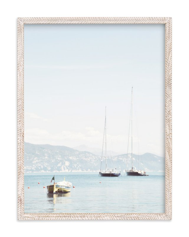 """""""Portofino Afternoon"""" - Limited Edition Art Print by Three Kisses Studio in beautiful frame options and a variety of sizes."""