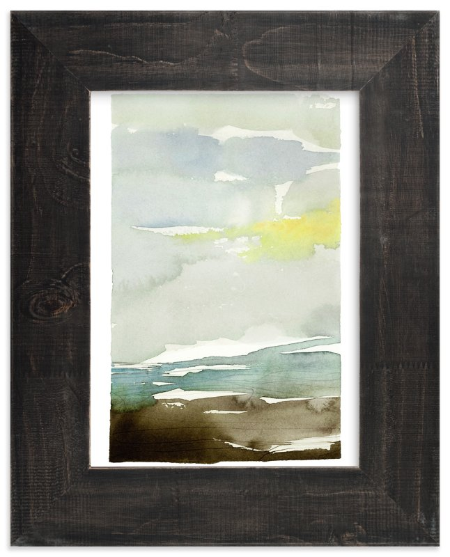 """""""Sunset Fade No 1"""" - Limited Edition Art Print by Kelly Ventura in beautiful frame options and a variety of sizes."""