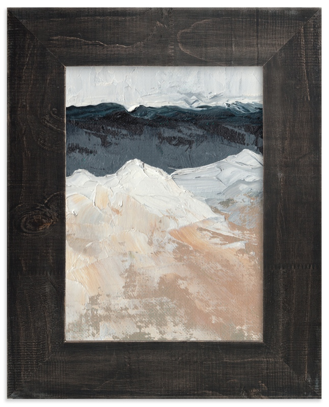 """""""Mountain Movements"""" - Limited Edition Art Print by Kristen Franklin in beautiful frame options and a variety of sizes."""