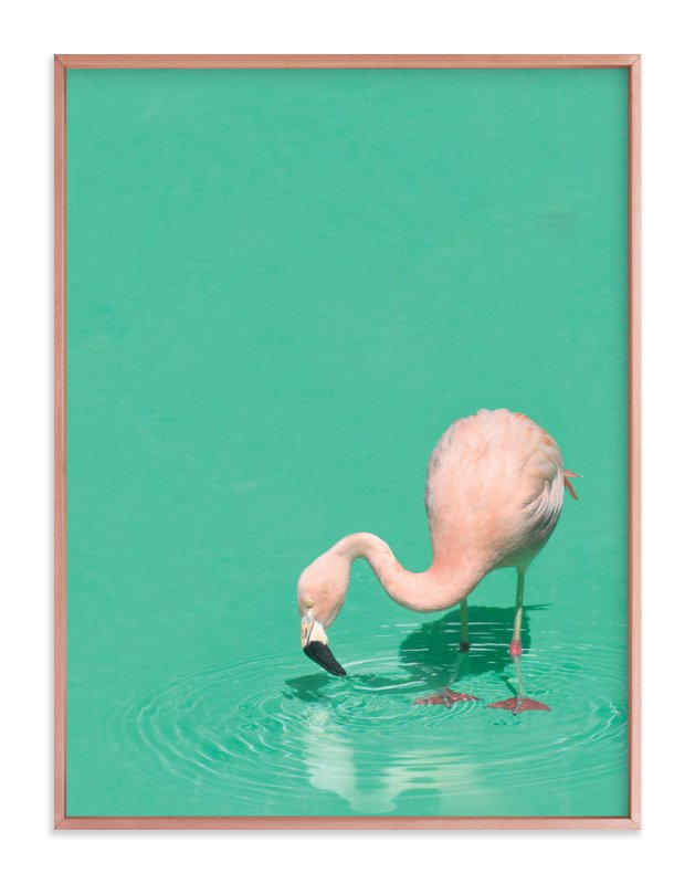 """""""Bird Bath"""" - Limited Edition Art Print by Pine and Lark in beautiful frame options and a variety of sizes."""