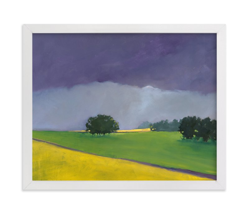 """""""Distant Light"""" - Limited Edition Art Print by Stephanie Goos Johnson in beautiful frame options and a variety of sizes."""