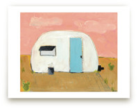 modern day camp out Art Prints