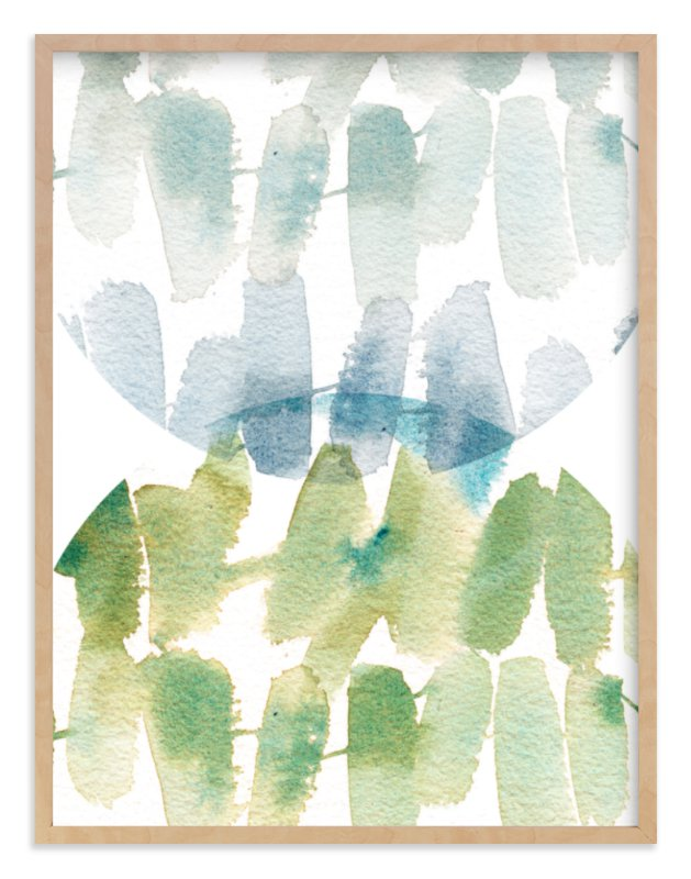 """""""Subtle Overlap"""" - Limited Edition Art Print by Kelly Ventura in beautiful frame options and a variety of sizes."""