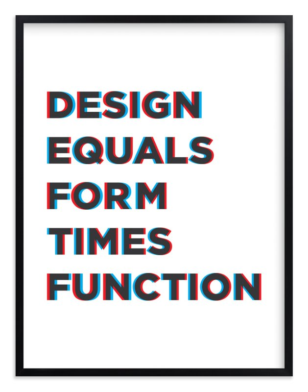"""""""Design for Fun"""" - Limited Edition Art Print by Joseph Manibusan in beautiful frame options and a variety of sizes."""