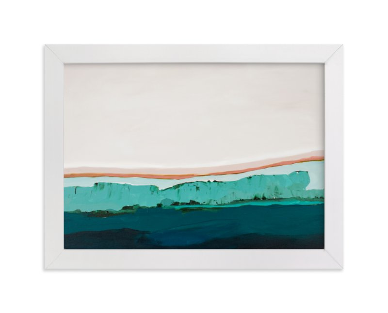 """""""Coastal Bluff"""" - Limited Edition Art Print by Caryn Owen in beautiful frame options and a variety of sizes."""