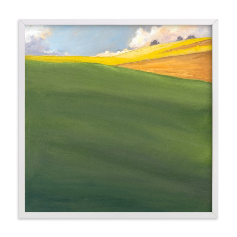 """September Hill"" - Limited Edition Art Print by Stephanie Goos Johnson in beautiful frame options and a variety of sizes."