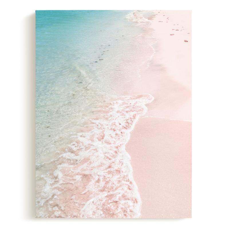 Turquoise Tide Art Print