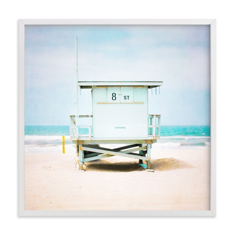 """""""8th Street Tower"""" - Limited Edition Art Print by Shannon Howard in beautiful frame options and a variety of sizes."""