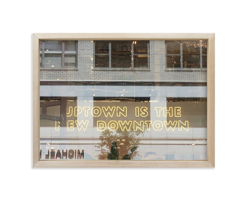 """""""Uptown"""" - Limited Edition Art Print by Jan Kessel in beautiful frame options and a variety of sizes."""