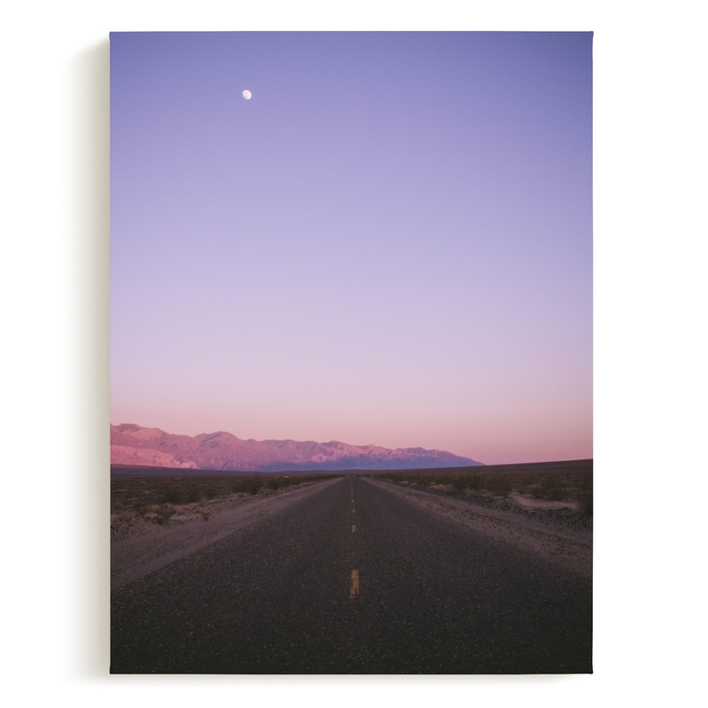 Desert Valley Art Print