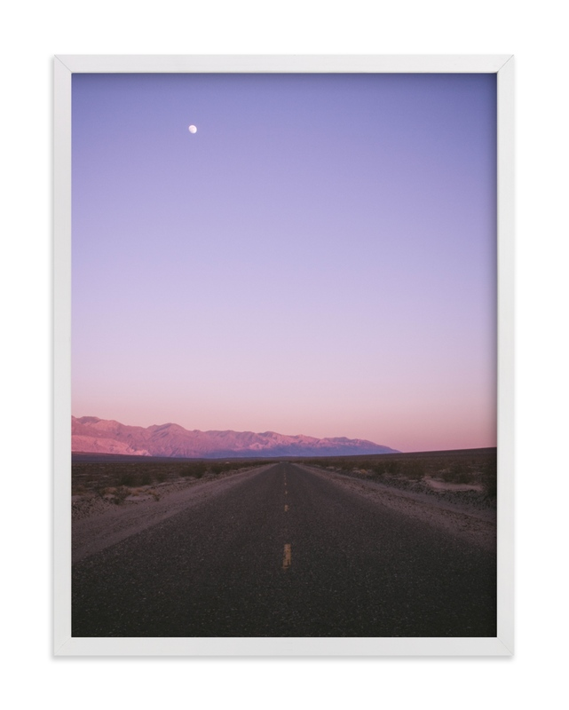 """""""Desert Valley"""" - Limited Edition Art Print by Kaitlin Rebesco in beautiful frame options and a variety of sizes."""
