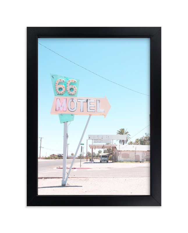 """""""66"""" - Limited Edition Art Print by Calais A Le Coq in beautiful frame options and a variety of sizes."""