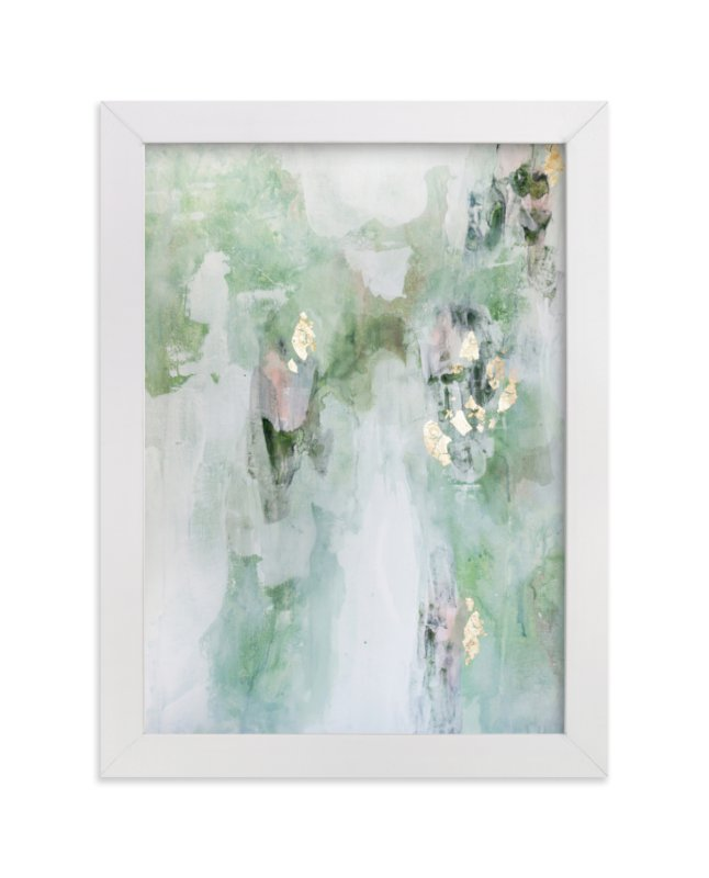 """""""Leaf It Alone"""" - Limited Edition Art Print by Christine Olmstead in beautiful frame options and a variety of sizes."""