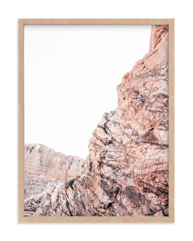 """Painted Canyon 1"" - Limited Edition Art Print by Kamala Nahas in beautiful frame options and a variety of sizes."