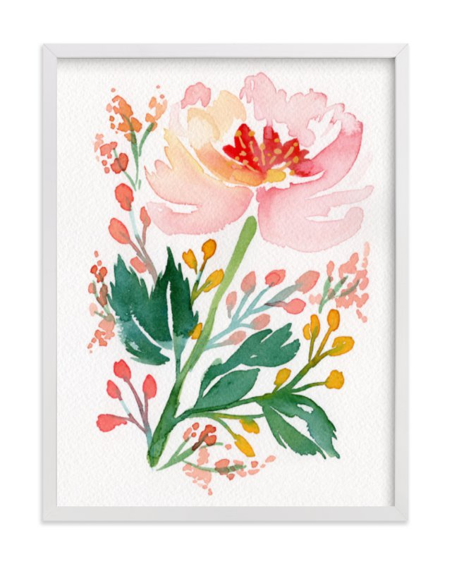 """Springtime in Marseilles"" - Limited Edition Art Print by Natalie Malan in beautiful frame options and a variety of sizes."