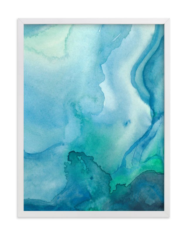 """""""Under Water"""" - Limited Edition Art Print by Chelsey Scott in beautiful frame options and a variety of sizes."""