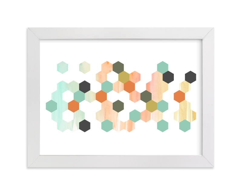 """""""Apertures No. 2"""" - Limited Edition Art Print by Genna Cowsert in beautiful frame options and a variety of sizes."""