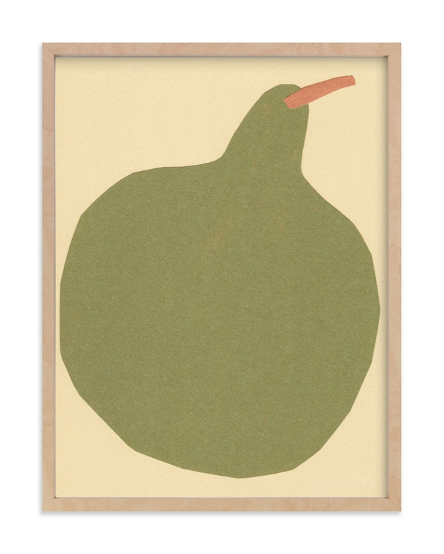 """Big Pear"" - Limited Edition Art Print by Elliot Stokes in beautiful frame options and a variety of sizes."