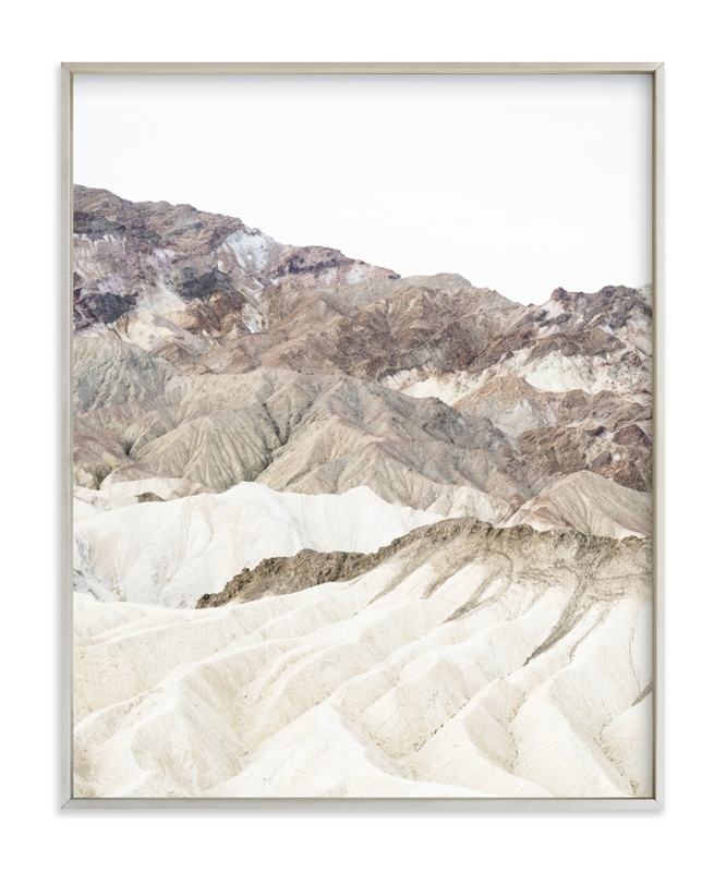 """""""white canyon 3"""" - Limited Edition Art Print by Kamala Nahas in beautiful frame options and a variety of sizes."""