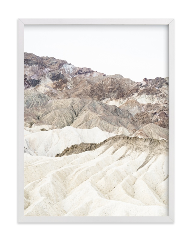 """white canyon 3"" - Limited Edition Art Print by Kamala Nahas in beautiful frame options and a variety of sizes."