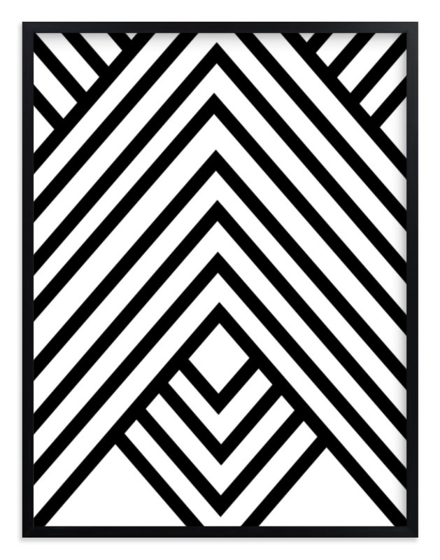 Abstract Simple Geometric Design Wall Art Prints By Anna