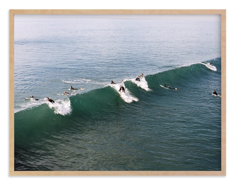"""""""Wave on film"""" - Limited Edition Art Print by Danielle Elizabeth Guthrie in beautiful frame options and a variety of sizes."""