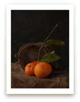 Bucket of Oranges Art Prints