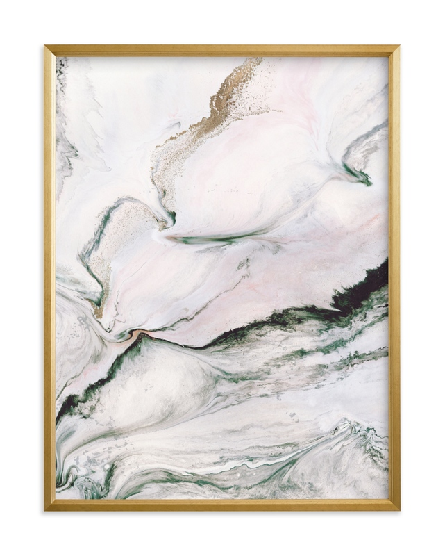 """Beneath the Layers"" - Limited Edition Art Print by Melanie Severin in beautiful frame options and a variety of sizes."