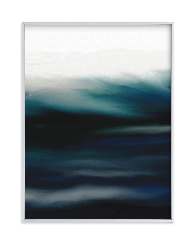"""Deep Waters"" - Limited Edition Art Print by Grae Sales in beautiful frame options and a variety of sizes."