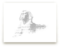 Great Sphinx of Giza by Paul Berthelot