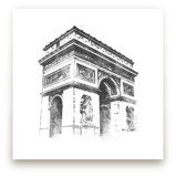 Arc de Triomphe by Paul Berthelot