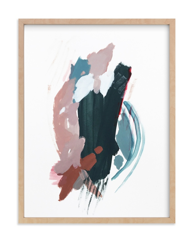 """Mark No. 3"" - Limited Edition Art Print by Kara Schlabaugh in beautiful frame options and a variety of sizes."