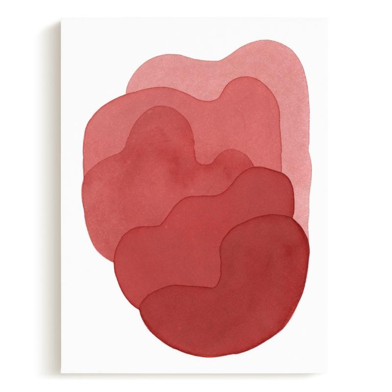 pink composite Art Print
