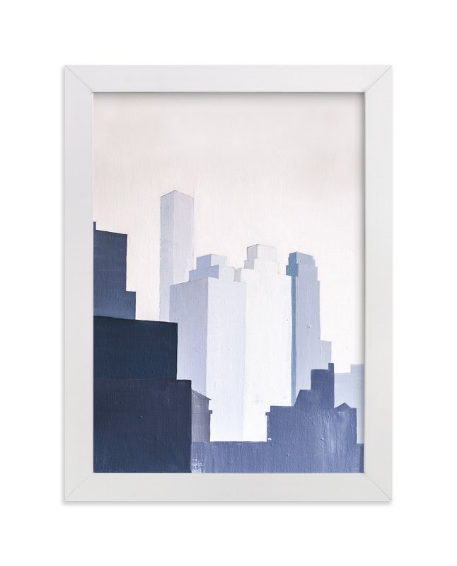 """View from York Ave."" - Limited Edition Art Print by jinseikou in beautiful frame options and a variety of sizes."